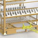 Racks para transporte de peças