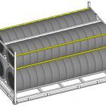 Rack para armazenar pneus