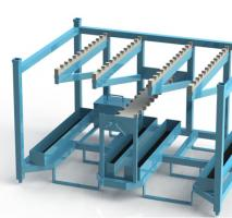 Racks para transporte de peças automotivas