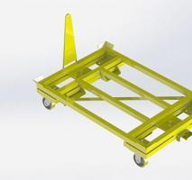 Carrinho plataforma para carga